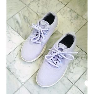 Allbirds Wool Runners Lavender Wool Sneakers